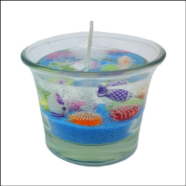 [척척박사네1608] 아로마 젤리양초(바닷속 꾸미기)-6인용