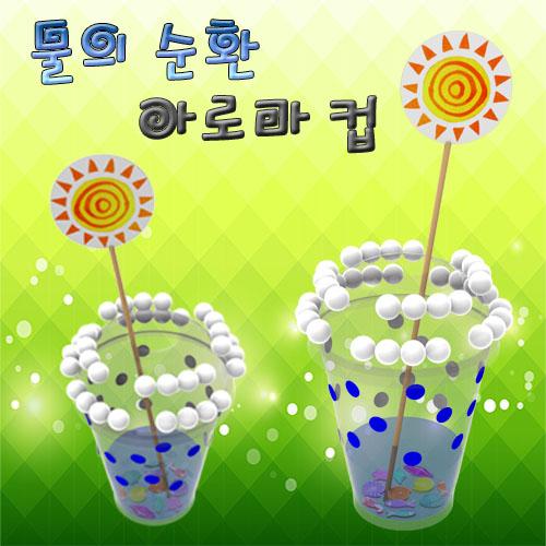 [척척박사네1589] 물의 순환 아로마컵(5인용)
