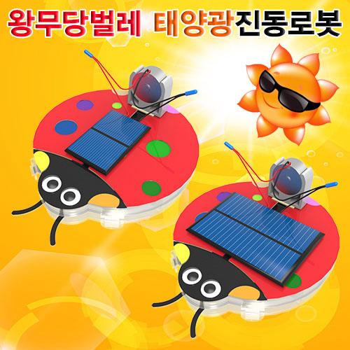 [척척박사네0338] 왕무당벌레 태양광진동로봇(2종)