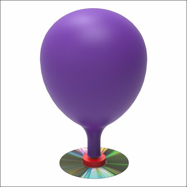 뉴 CD 풍선 호버크래프트 만들기(1인용/10인용)