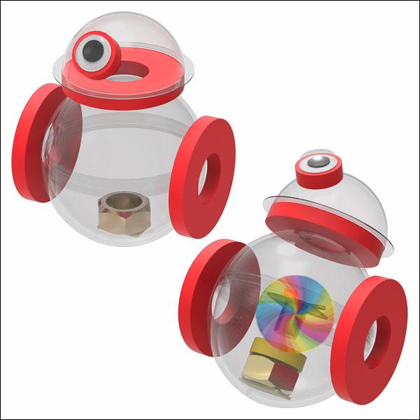 뉴 무게중심 오뚝이 BB-8 드로이드 로봇(일반형/LED형-1인용/5인용)