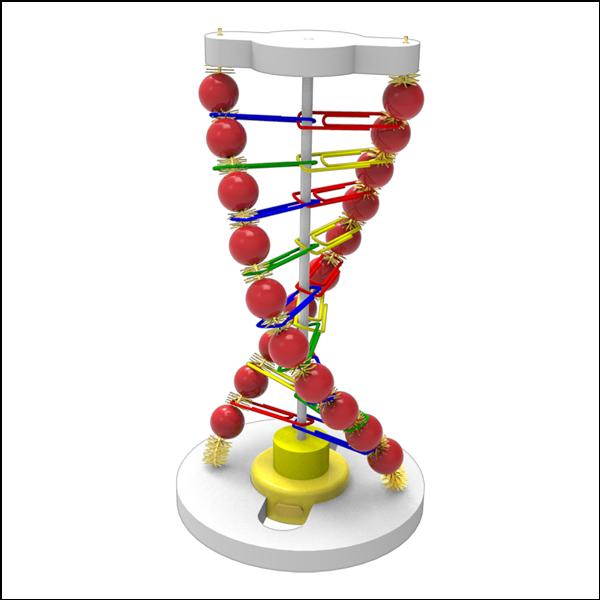 LED DNA 조명등 - 초등과학실험키트 과학실험교구 과학키트