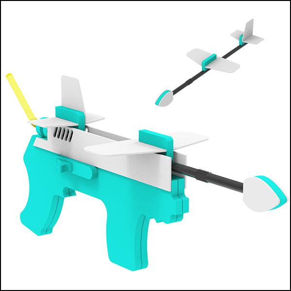 [척척박사네1255] 에어로켓 권총(1인용/5인용)