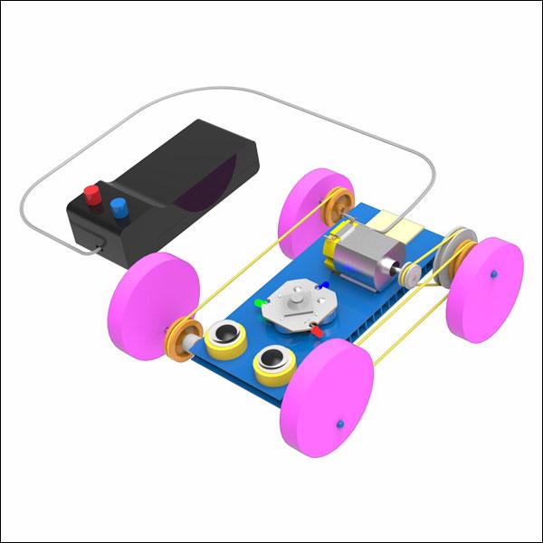 [척척박사네0199] 유선 RC 동력 전달 개구리 자동차(일반형/LED형)