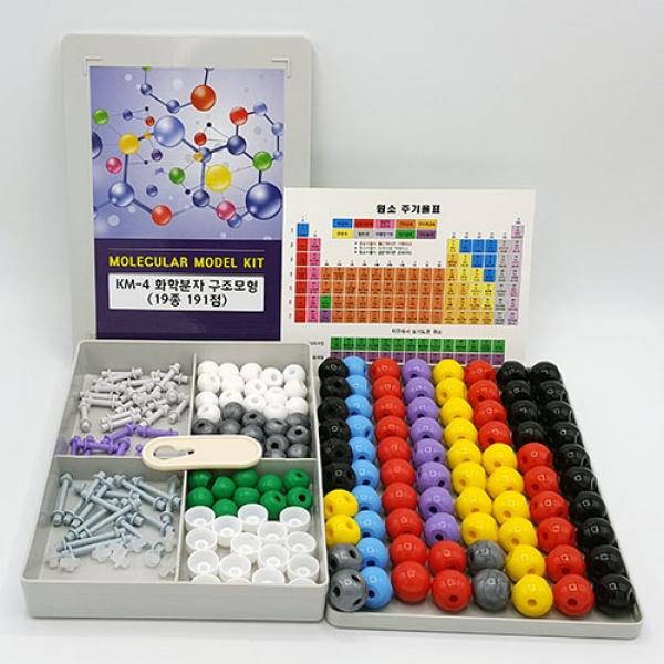 KM-4 유기(무기) 분자구조모형(19종 191점)