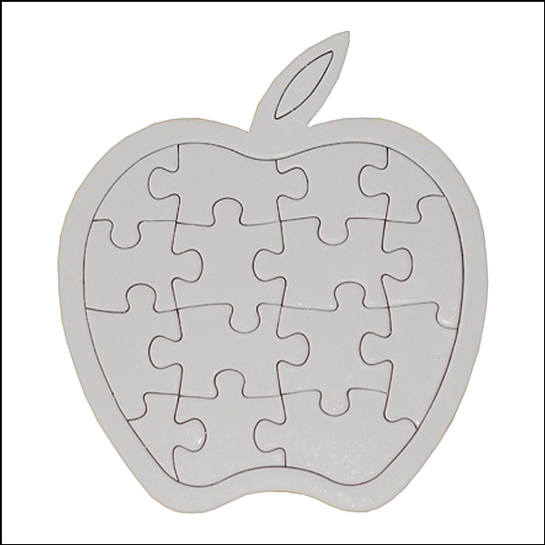 [척척박사네1938] 종이 사과 퍼즐