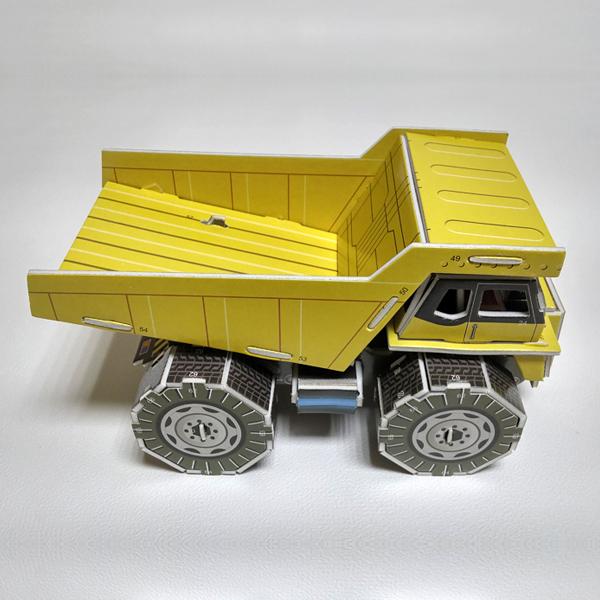 [척척박사네1933] 3D 입체퍼즐 덤프 트럭