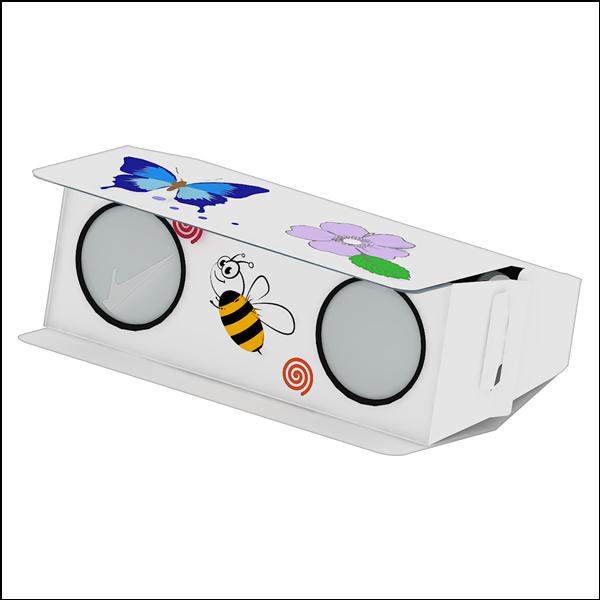 [척척박사네1025] 창작용 종이 쌍안경