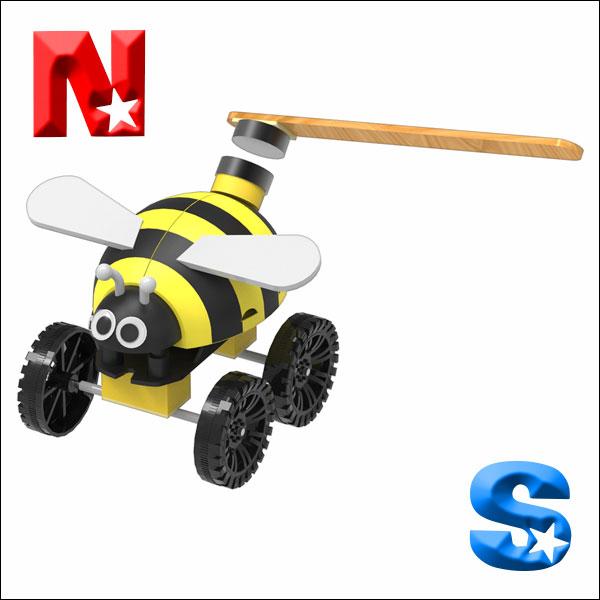[척척박사네2122] 자석으로 가는 꿀벌(5인용)