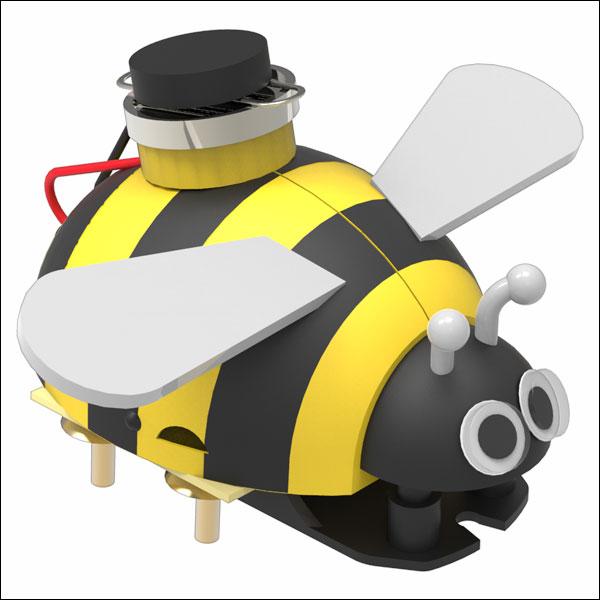 뉴 미니 꿀벌 진동로봇 만들기(1인용/5인용)