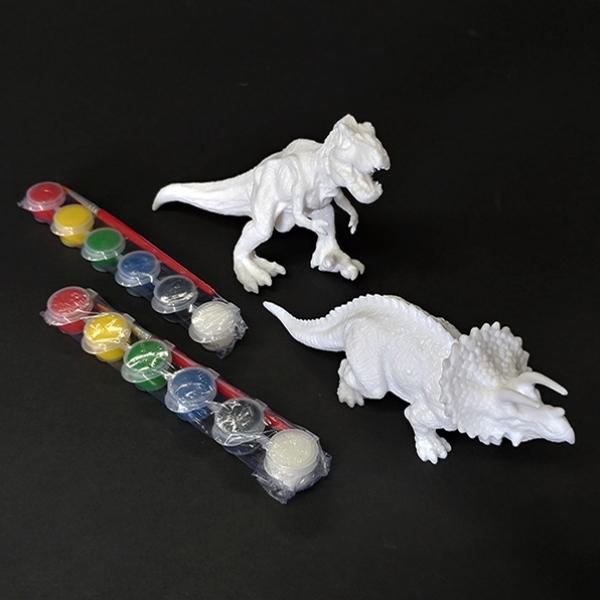 [척척박사네2405] 입체 공룡 색칠(트리케라톱스)