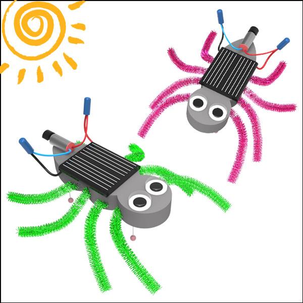 [척척박사네2491] 태양광 거미 진동로봇(1인용/5인용)