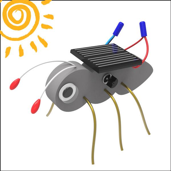 [척척박사네2490] 태양광 개미 진동로봇(1인용/5인용)
