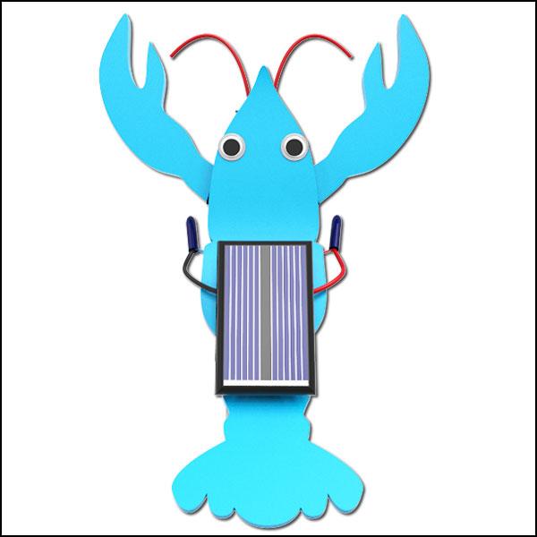 [척척박사네2476] 태양광 가재 진동로봇(1인용/5인용)