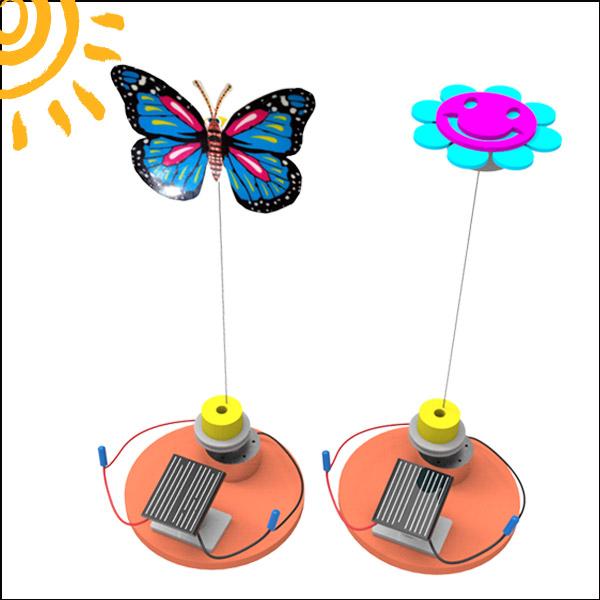 [척척박사네2505] 태양광 춤추는 꽃과 나비(꽃/나비)