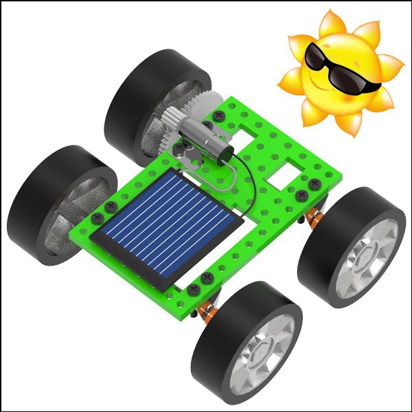 태양광 자동차 조립형