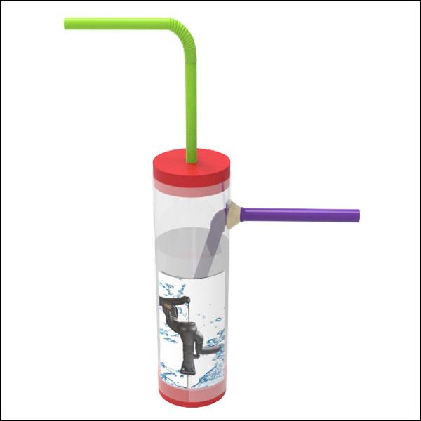 [척척박사네2521]공기압력 물 펌프의 원리(1인용/5인용)
