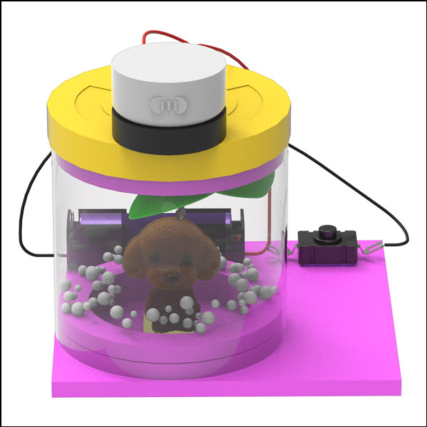 [척척박사네2548] 전동 스노우볼 만들기(일반형/LED형-1인용/5인용)