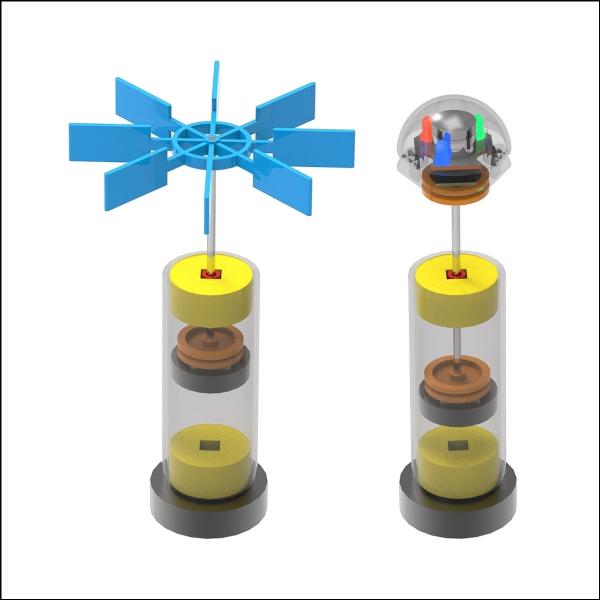 [척척박사네2565] 자석의 성질 척력(자기 부상)-프로펠러형/LED형