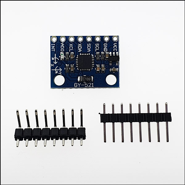 MPU6050(아두이노용 3축 자이로 센서 모듈) GY-521