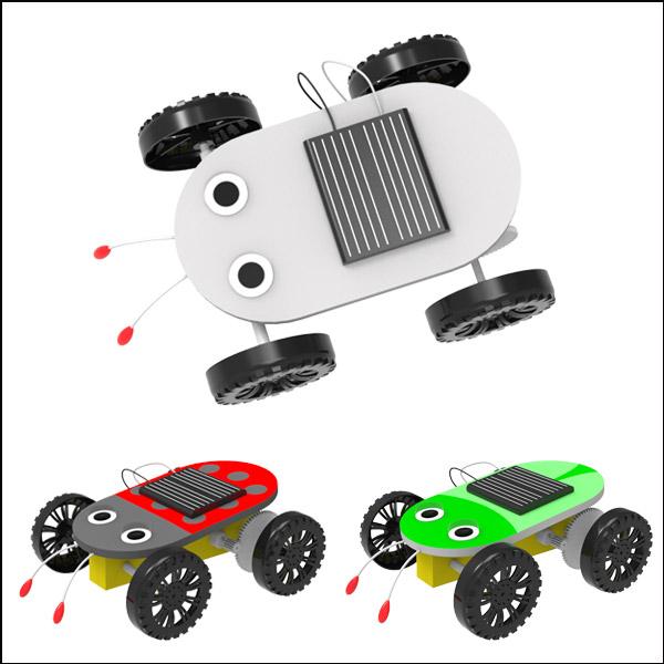 [척척박사네2587] 창작용 곤충 태양광 자동차