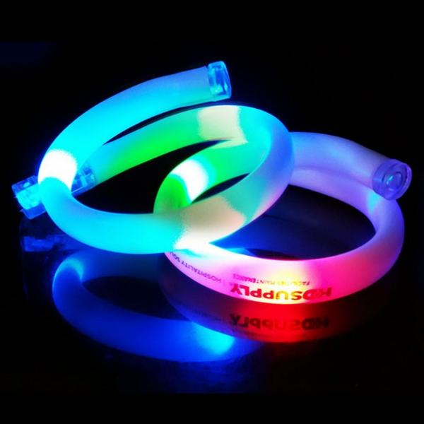 LED 무지개 변색 팔찌