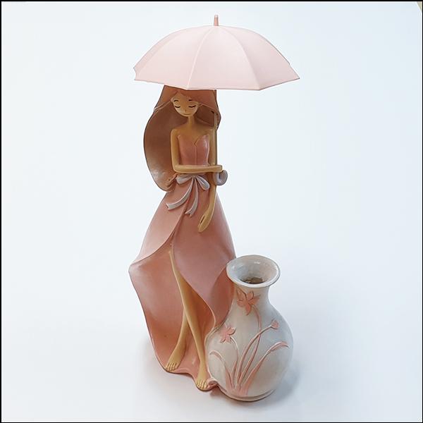 [척척박사네2642] 우산 쓴 아가씨와 화병