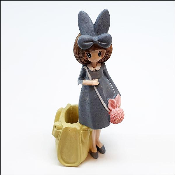 [척척박사네2644] 토끼 리본 소녀
