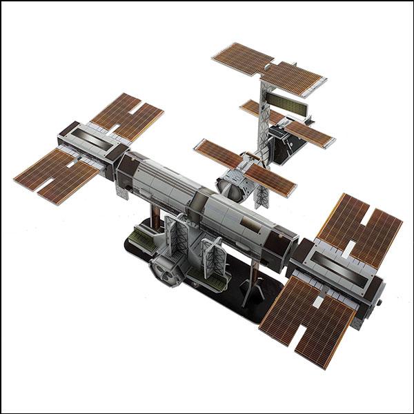 [척척박사네2629] 3D 입체퍼즐 국제 우주정거장(44pcs)