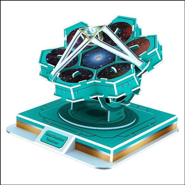 [척척박사네2633] 3D 입체퍼즐 자이언트 마젤란 우주망원경(31pcs)