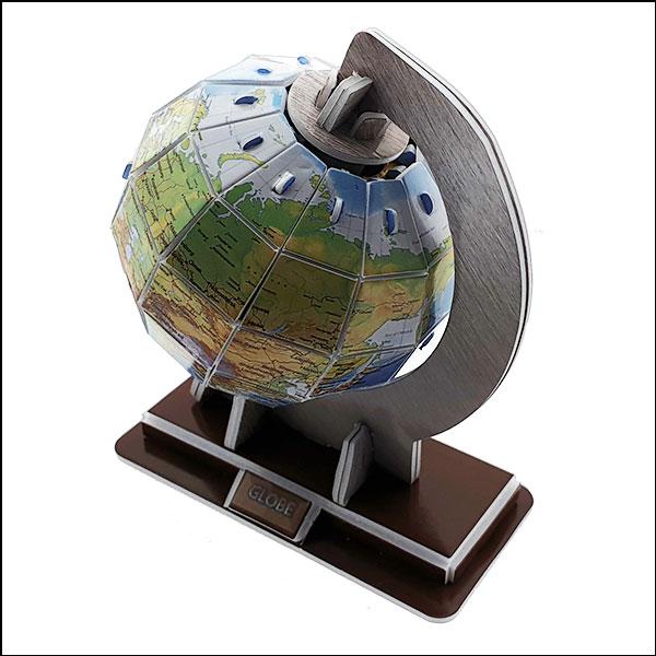 [척척박사네2634] 3D 입체퍼즐 지구본(31pcs)