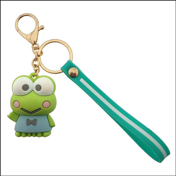 [척척박사네2977] 개구리 왕눈이 고급 열쇠고리(키홀더)