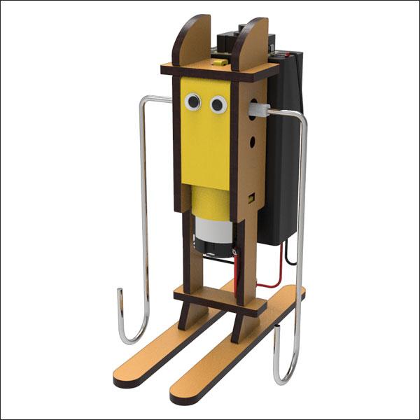 [척척박사네2990] 오뚝이 스키 로봇