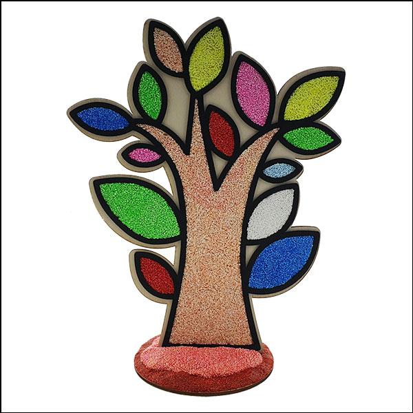 볼 클레이 나무 액자 꾸미기(나무)