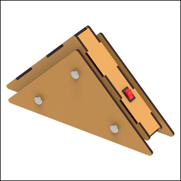 [척척박사네3043] DIY 삼각 워킹로봇 만들기