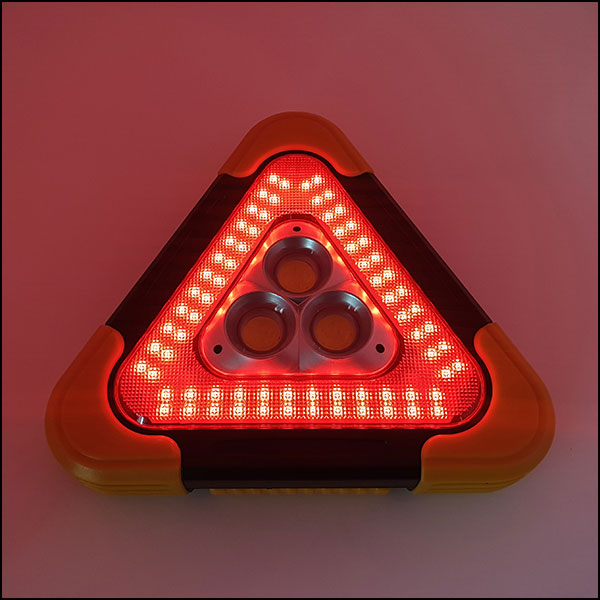 [척척박사네3059] COB LED 삼각 작업등(비상등/경고등-태양광 충전 가능)