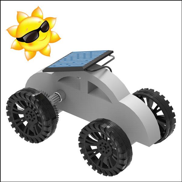 창작용 태양광 자동차 택시
