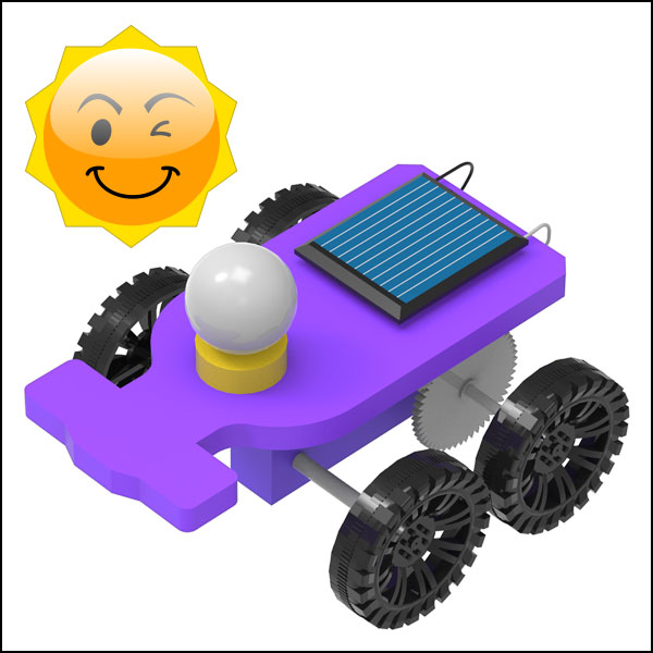 [척척박사네3091] 미니 파워 태양광 자동차