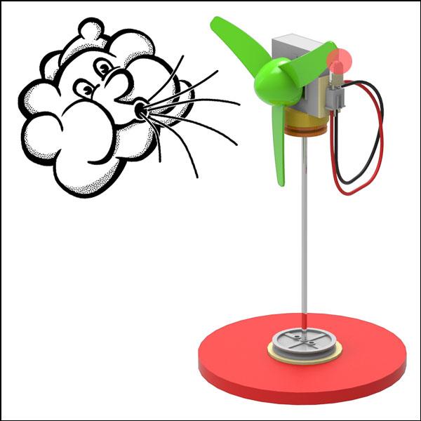 LED 에코 풍력발전기(1인용/5인용)