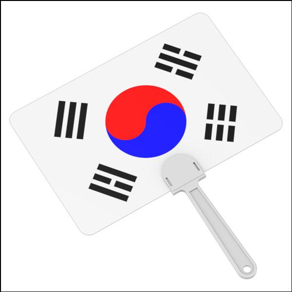 [척척박사네3131] 창작용 태극기 부채 만들기(1인용/5인용)