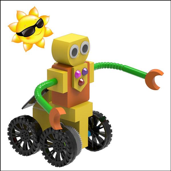 태양광 솔라 로봇카 썬돌이