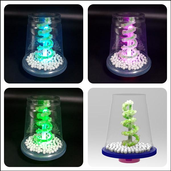 LED 눈꽃 결정 나무 만들기(2인용)