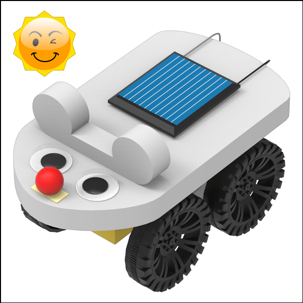쥐돌이 태양광 자동차