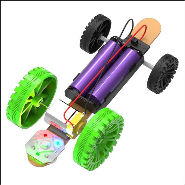 스피드 더블 축 전동 자동차(일반형/LED형)