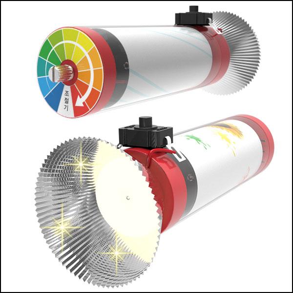 뉴 빛조절 가변저항 고휘도 LED후레쉬(1인용/5인용)