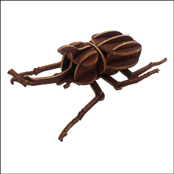 DIY 입체 곤충 퍼즐(장수풍뎅이)-17pcs