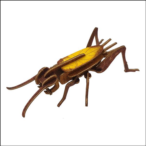 DIY 입체 곤충 퍼즐(귀뚜라미)-20pcs