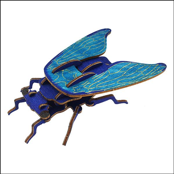 DIY 입체 곤충 퍼즐(매미)-19pcs