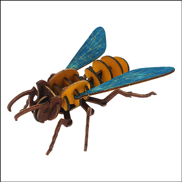 DIY 입체 곤충 퍼즐(꿀벌)-24pcs
