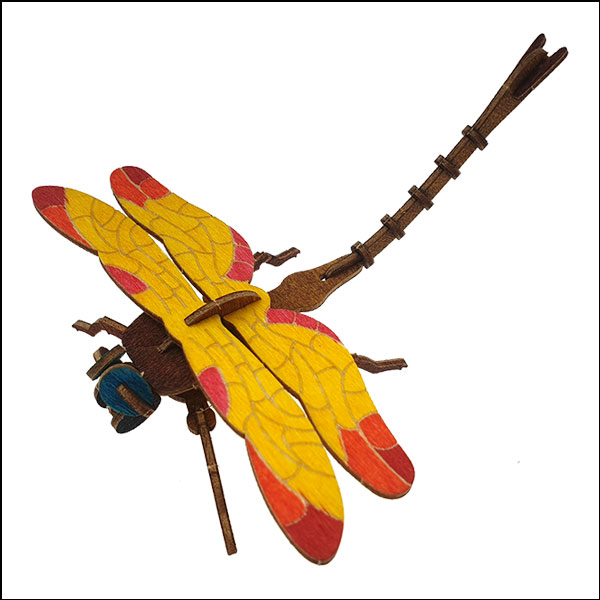 DIY 입체 곤충 퍼즐(잠자리)-24pcs